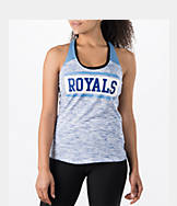 Women's New Era Kansas City Royals MLB Space Dye Tank