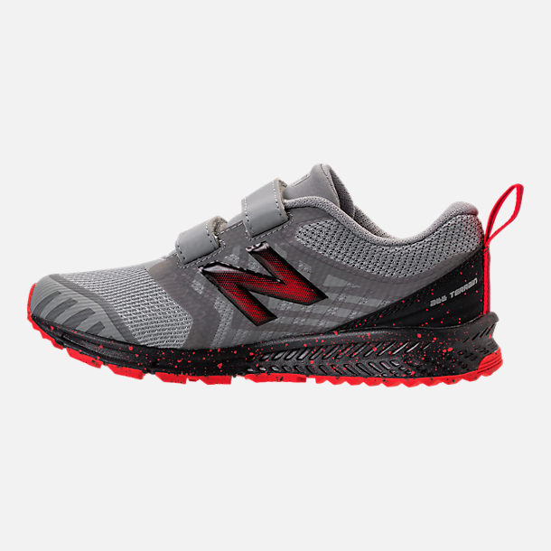 1878daff Boys' Little Kids' New Balance FuelCore Nitrel v3 Hook-and-Loop Trail  Running Shoes