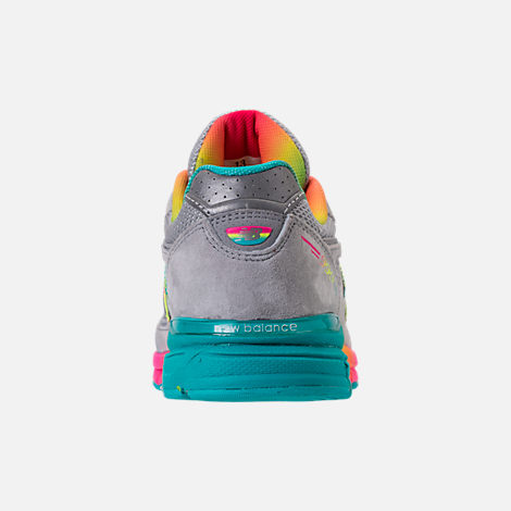Back view of Girls' Big Kids' New Balance 990 V4 Running Shoes