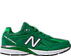 Boys' Grade School New Balance 990 V4 Running Shoes