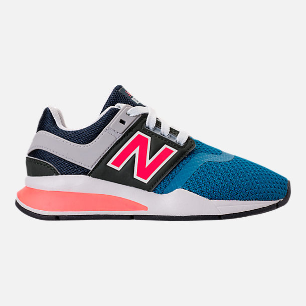 4995339794ae3 Right view of Boys' Big Kids' New Balance 247 Casual Shoes in Light Blue