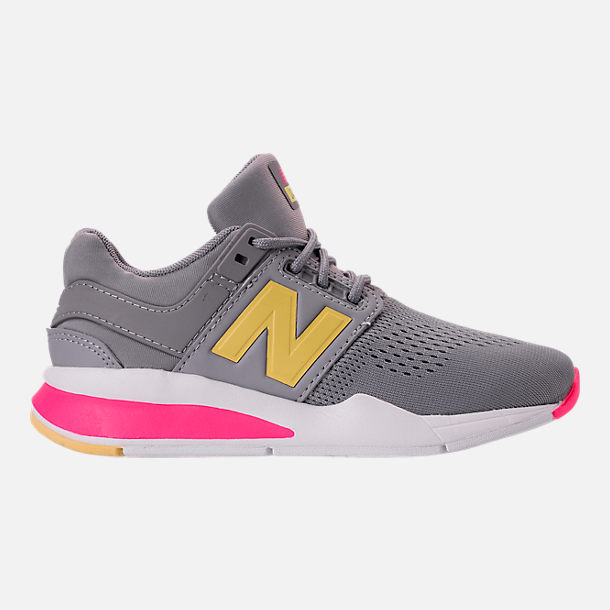 Right view of Girls' Grade School New Balance 247 Casual Shoes