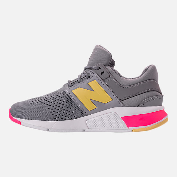Left view of Girls' Grade School New Balance 247 Casual Shoes