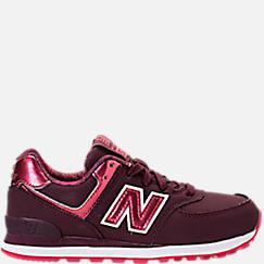 Girls' Preschool New Balance 574 Casual Shoes