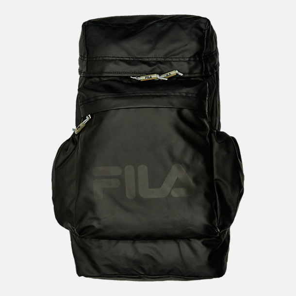 Front view of Fila Forbes Backpack in Black