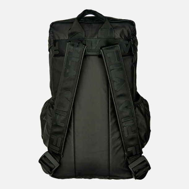 Back view of Fila Forbes Backpack in Black