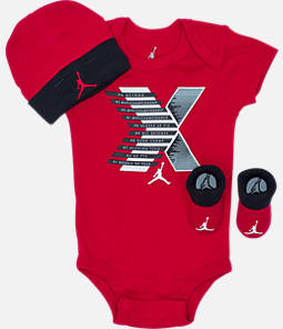 Infant Air Jordan Retro 10 Stats 3-Piece Set