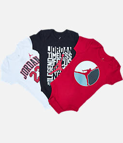 Infant Jordan 3-Pack Bodysuits Set