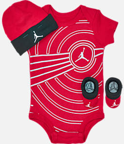 Infant Air Jordan Retro 1 Block Up 3-Piece Set