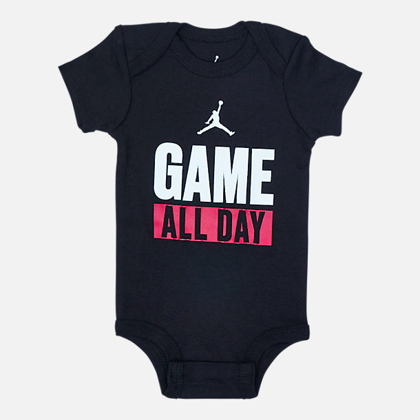 Alternate view of Infant Jordan I Got Game 3-Piece Box Set in Black/Red/White