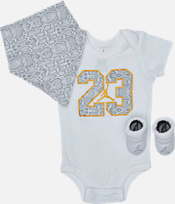 Infant Air Jordan Always Lethal 3-Piece Box Set