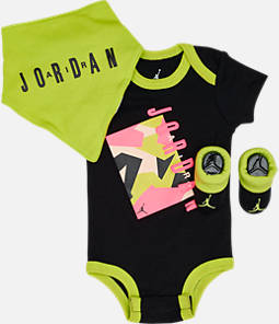 Infant Air Jordan 3-Piece Boxed Set