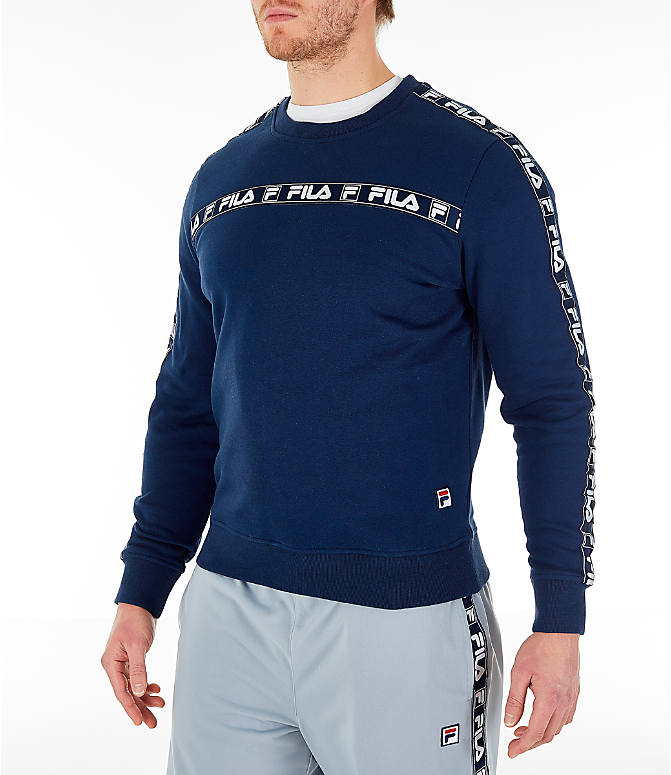 Men's Fila Tag Fleece Crewneck Sweatshirt by Fila