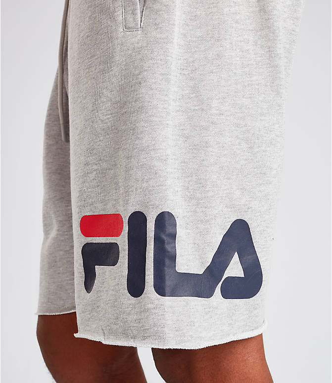 Detail 1 view of Men's Fila George Shorts in Grey