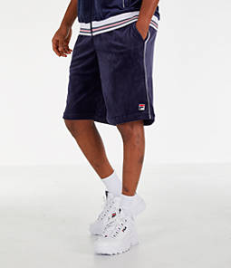 Men's Fila Cristaudo Velour Shorts