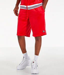 Men's Fila Cristaudo Velour Shorts