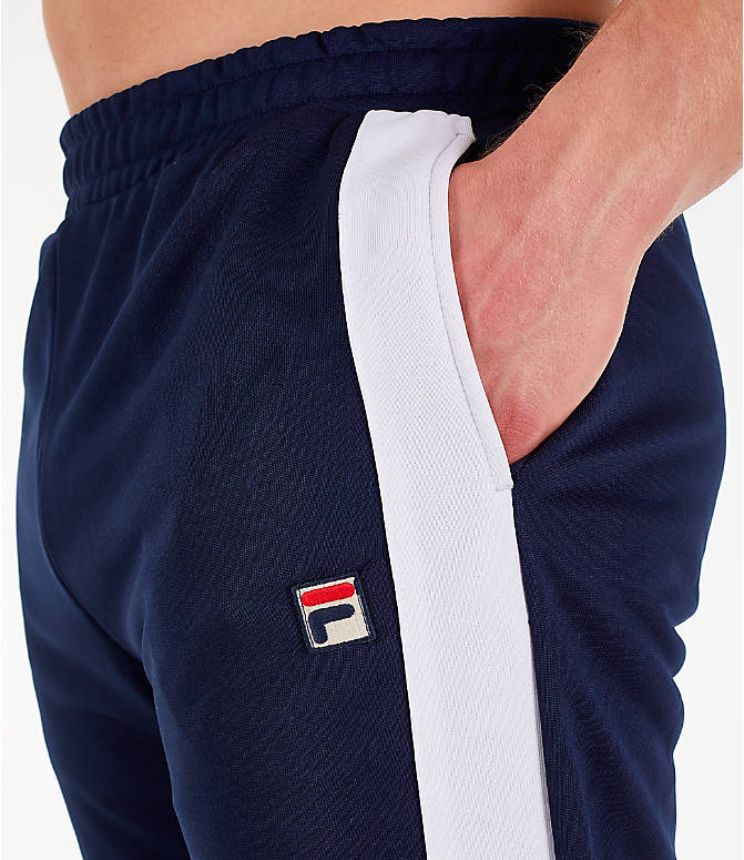 Detail 1 view of Men's Fila Renzo Track Pants in Navy
