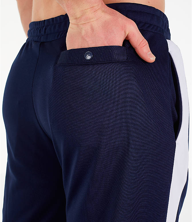 Detail 2 view of Men's Fila Renzo Track Pants in Navy