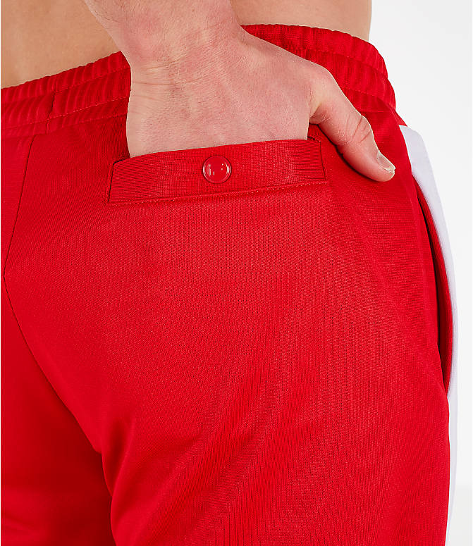 Detail 2 view of Men's Fila Renzo Track Pants in Red