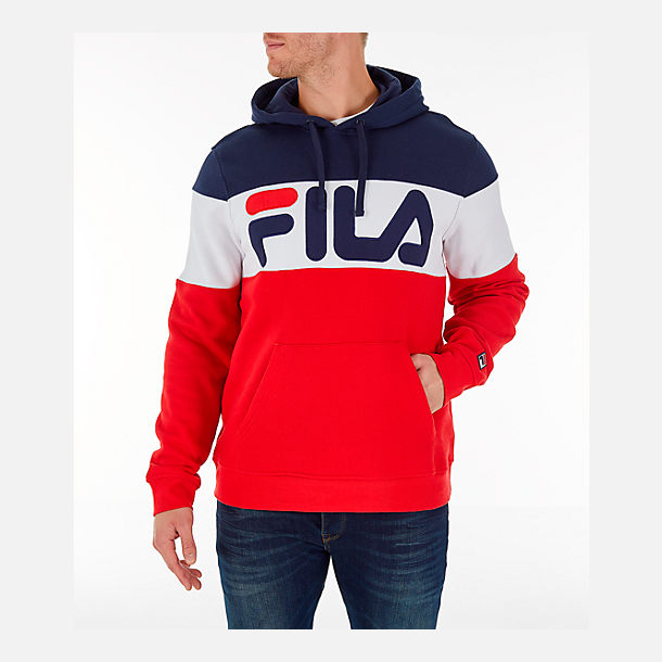 f04215baeaad Men's FILA Flamino Pullover Hoodie  Finish Line