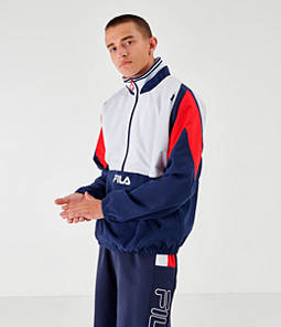 Men's Fila Marty Half-Zip Windbreaker Jacket