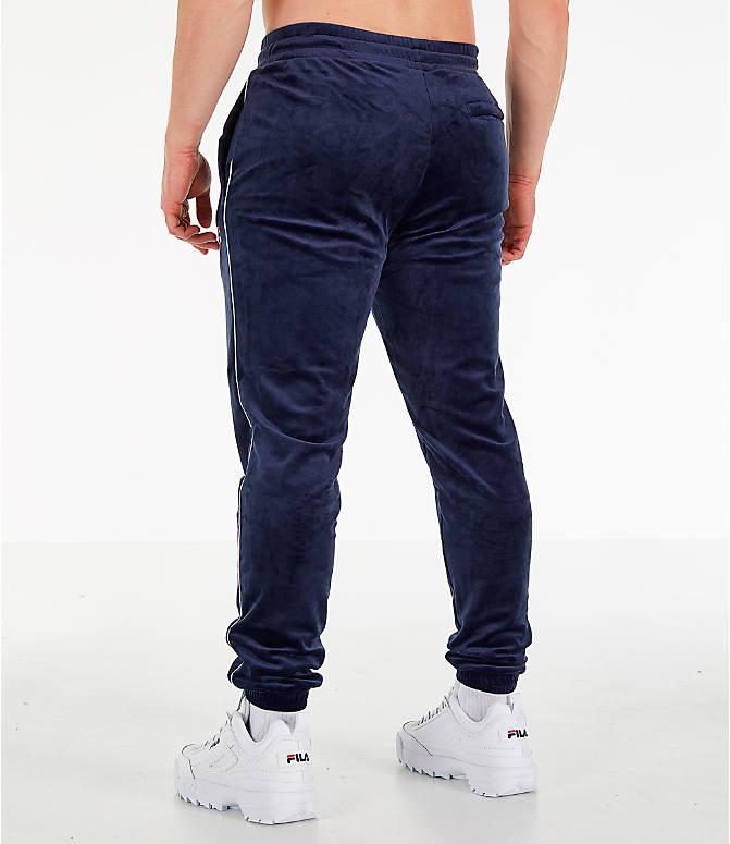 Back Left view of Men's Fila Bounty Velour Pants