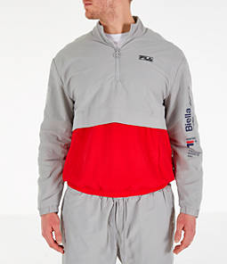 Men's Fila Gus Half-Zip Track Jacket