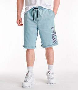 Men's Fila Darwin Denim Shorts
