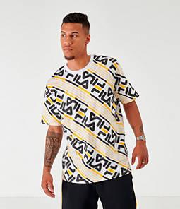 Men's Fila Calvin Allover Print T-Shirt