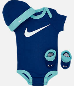 Infant Nike Swoosh 3-Piece Box Set
