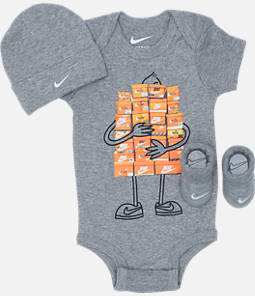 3befda7d5471e9 Infant Nike Sneaker Spree 3-Piece Box Set