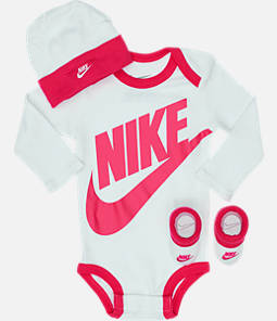 Infant Nike Long Sleeve Futura 3-Piece Box Set