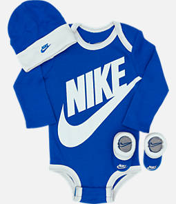 Boys' Infant Nike Long Sleeve Futura 3-Piece Box Set
