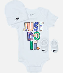 Infant Nike Geo Just Do It 3-Piece Box Set
