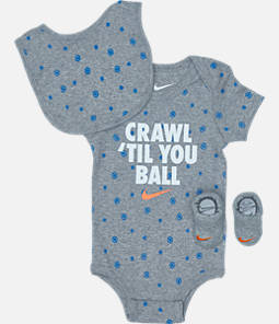 Infant Nike Crawl 'Til You Ball 3-Piece Set