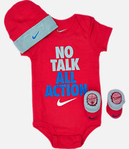 Infant Nike No Talk All Action 3-Piece Set