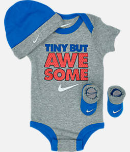 Boys' Infant Nike Varsity Tiny But Awesome 3-Piece Box Set