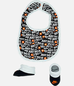 Infant Nike JDI Bib and Bootie Set