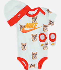 Infant Nike Doggo 3-Piece Box Set