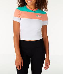 Women's Fila Maya Crop T-Shirt