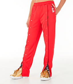 Women's Fila Alice Snap Front Track Pants