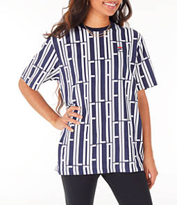 Women's Fila Lia Allover Print T-Shirt