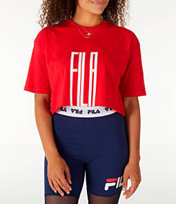 Women's Fila Domenica Crop T-Shirt
