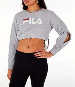 Women's Fila Charlotte Cropped Crew Sweatshirt