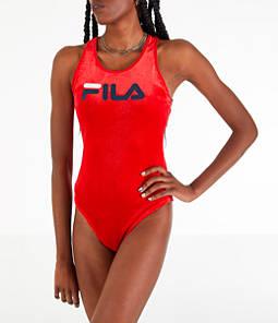 Women's Fila Lupita Racerback Bodysuit