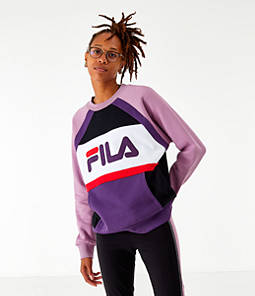 Women's Fila Emi Colorblock Crewneck Sweatshirt