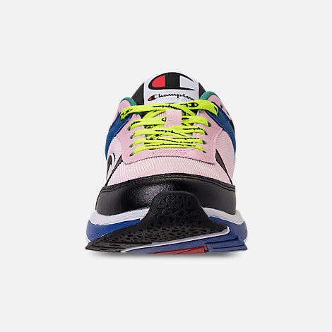 82941605f163cf Front view of Big Kids  Champion 93Eighteen Block Casual Shoes in Pink Multi