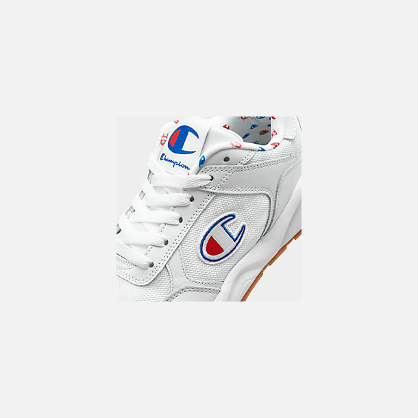 Front view of Women's Champion 93Eighteen Classic Casual Shoes in White