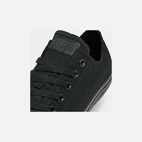 Front view of Men's Converse Chuck Taylor Low Top Casual Shoes