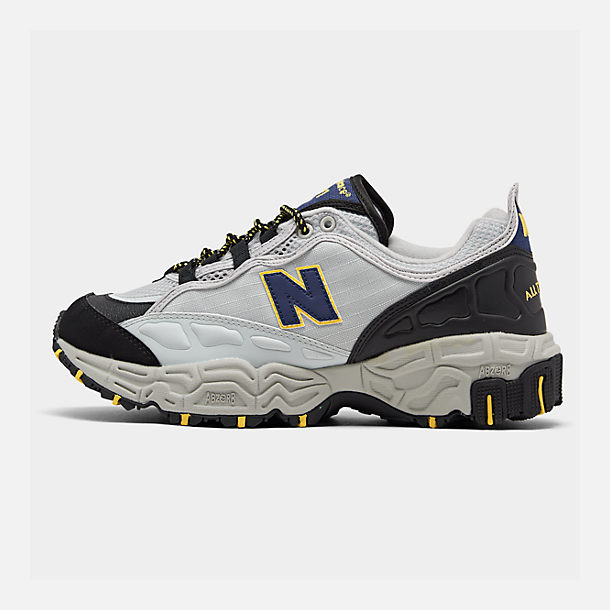 new concept ed401 99a6f Right view of Men s New Balance 801 Casual Shoes in Grey Yellow